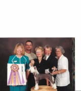 2001 Best Of Breed ACCC National Specialty from 6-9 puppy dog class